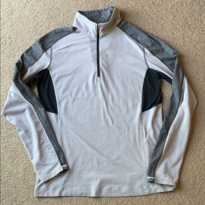 Lululemon Men's Pullover Top sz L 1/4 zip